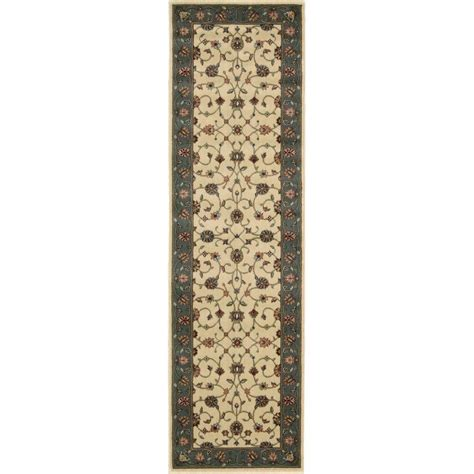 12 Foot Rug by Nourison Firouz Ivory 2 Ft 3 In X 12 Ft Rug Runner