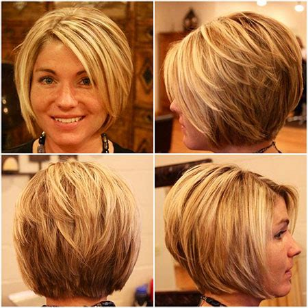 woman short layered bob wedged into neck beautiful stacked bob haircuts 2017 bob hairstyles 2017