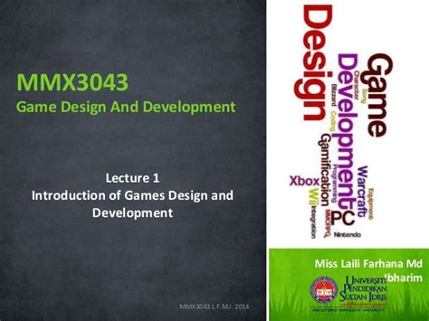 game design and development introduction of game design and development