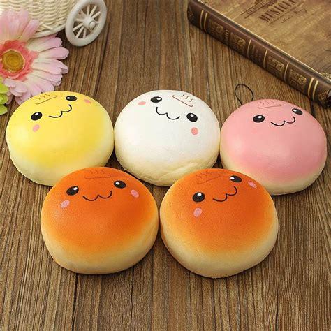 squishy meaning jumbo colored kawaii steam bun squishy charms 183 kawaii
