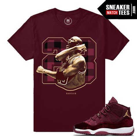 T Shirt Nike Just Fly Maroon Anime velvet maroon 11 t shirts sneaker match tees