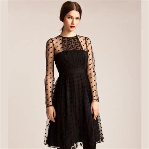 Velvet Gauze Dress L 30772 s dress velvet gauze sleeve o neck