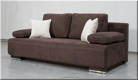 moderne schlafcouch edles bettsofa hato mit bettkasten federkern und