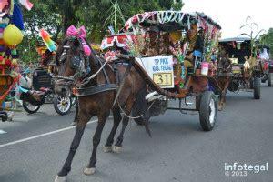 Pilkita Tenaga X pawai dokar peringatan hut kabupaten tegal ke 412 info tegal