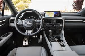 Lexus Rx F Sport Interior 2016 Lexus Rx 350 F Sport Test Review Best Seat In