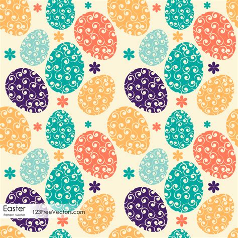 easter pattern easter egg pattern download free vector art free vectors