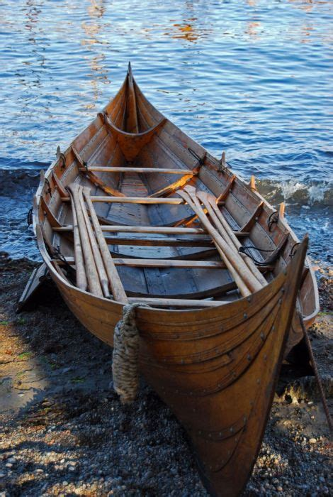 viking small boats thewaynorth viking rowboat stavern vestfold