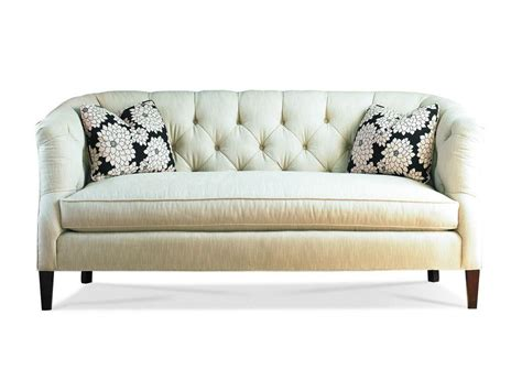 Sofa With One Cushion by Sherrill Living Room One Cushion Sofa 3153 3 Hickory