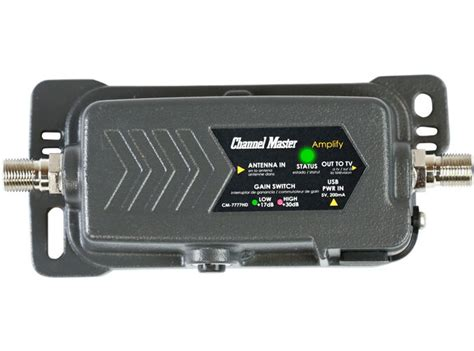 channel master amplify tv antenna amplifier adjustable