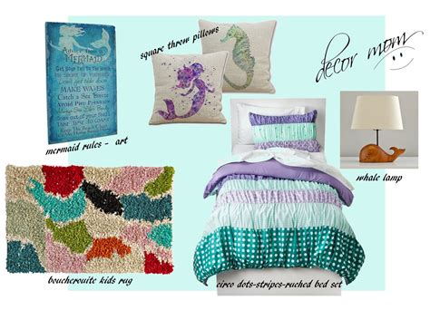 Mermaid Room Decor Mermaid Room Decor 3 Inspiration Boards Mermaid Bedroom Decorating Ideas