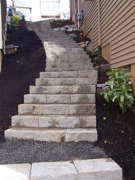 landscaping stairs top 28 steps for landscaping natural rock steps