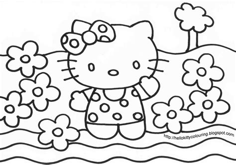 hello kitty coloring pages full size all hello kitty coloring pages