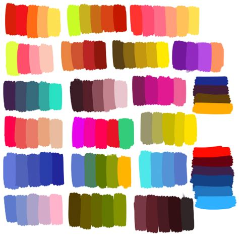cute color schemes cute color schemes color combinations color palettes for