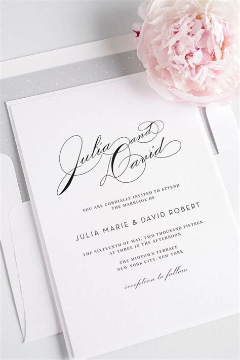 calligraphy boston wedding invitations 25 best ideas about calligraphy wedding invitations on