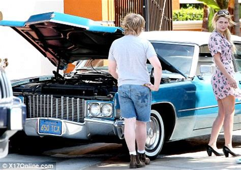 Mischa Crashes Richies Car by Should Taken A Cab Mischa Barton Hits A Parked Car