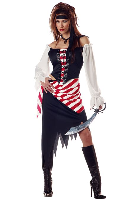 s pirate ruby costume pirate wench costumes