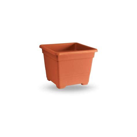 vaso quadrato vaso quadrato 38 cm terracotta gardenstuff it