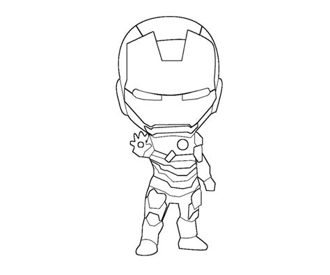 chibi iron man coloring page by kitty stark on deviantart iron man 18 superheroes printable coloring pages