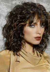 That with medium length curly hair there is no need to make other hair