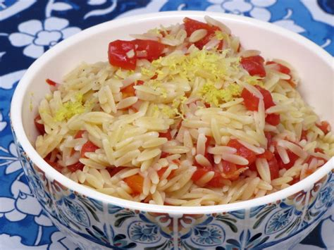 how to make tomatoes and orzo recipe