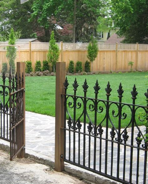 metal backyard gates 17 best ideas about fence panels on pinterest garden