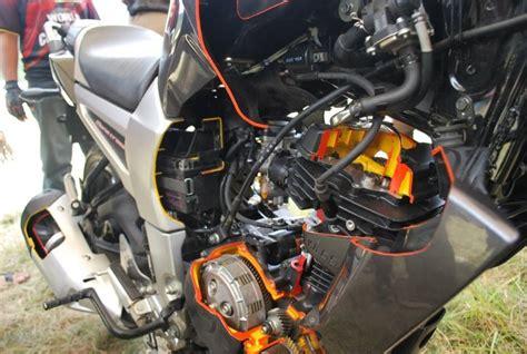 merawat mesin motor yamaha byson