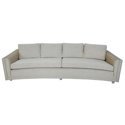 dunbar sofa dunbar curved sofa by edward wormley for sale at 1stdibs