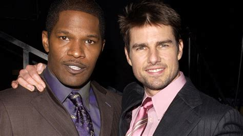 film tom cruise and jamie foxx jamie foxx forces to deny dating katie holmes afrossip