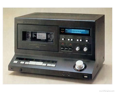 cassette recorder technics sv p100 manual digital audio cassette