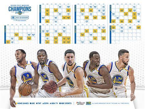 Mba Schedule by Nba Chion Golden State Warriors Announce Schedule For