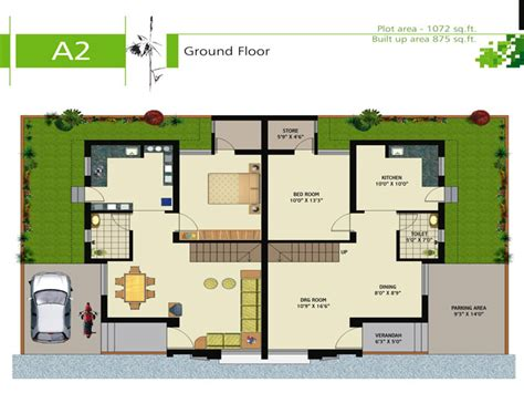 Luxury Duplex House Plans | floor plans luxury duplex villas joy studio design