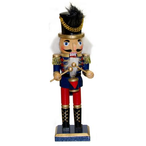 10 quot traditional wooden nutcracker royal blue 2514 090