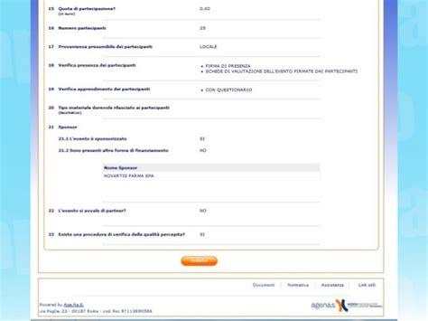 agenas ecm dati chi 232 e cosa fa un provider di corsi ecm