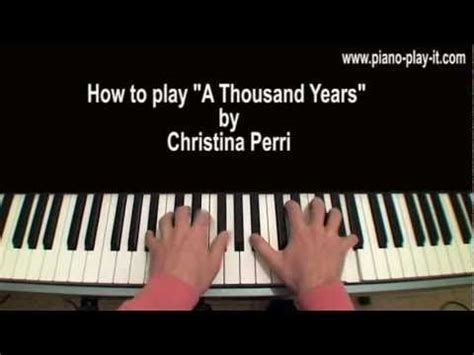 tutorial keyboard a thousand years 1000 images about piano on pinterest