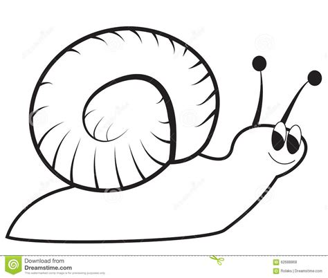 Kemeja Black Abstract White Snail snail stock vector image 62688868
