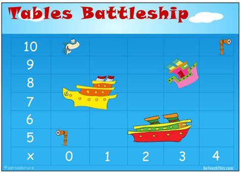 printable times tables games multiplication battleship a printable game to add fun to