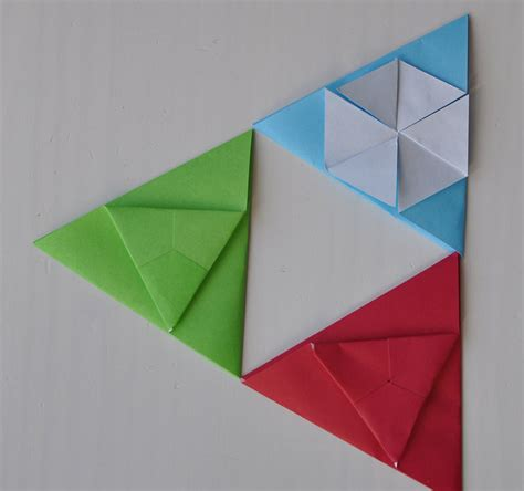 Tato Origami - origami triangle tato origami tutorials