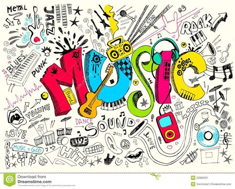 doodlebug song doodle stock vector image of leisure