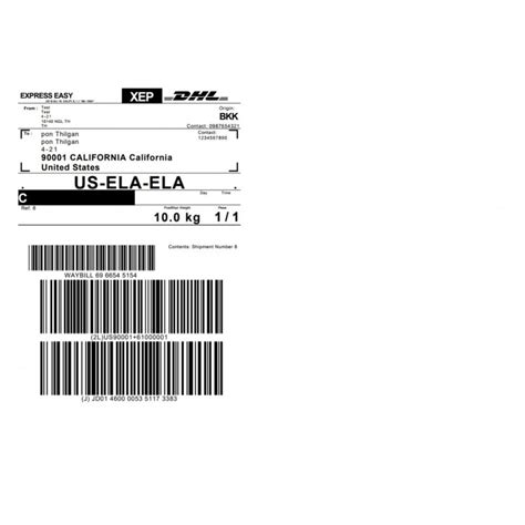 Dhl Etiketten by Dhl Express Shipping Plugin With Print Label