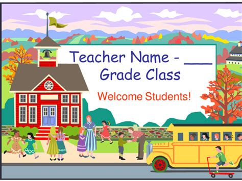 welcome templates for powerpoint free download welcome back to school powerpoint template by