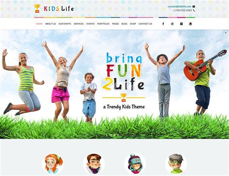 theme exles about life 15 best kindergarten wordpress themes 2018 athemes