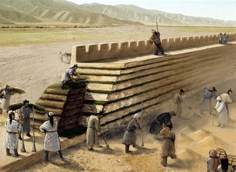 how to build a great who were the type of that had been chosen to build the great wall of china
