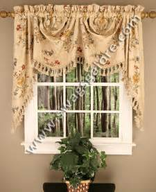 Kitchen Curtains And Valances Valance And Austrian Valance Swags Galore Kitchen Valances