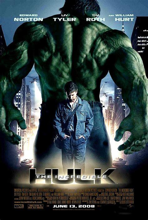 membuat poster film hulk the incredible hulk 2008 movies films pinterest