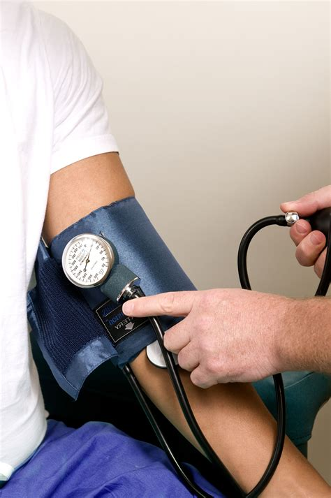 picture blood pressure examination