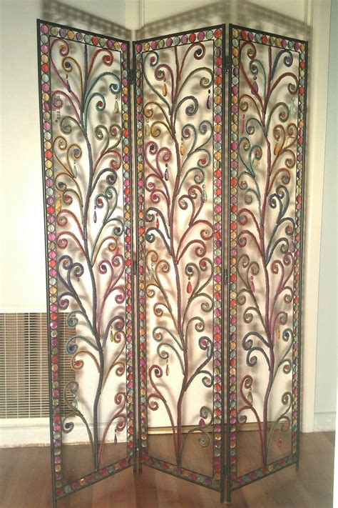 beaded room dividers colourful ishka decorative screen room divider beaded