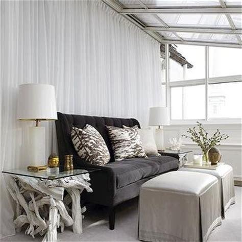 charcoal gray vvlvet sofa contemporary living room elle decor gray velvet tufted sofa contemporary living room