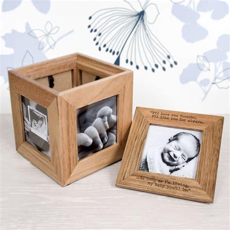personalised photo cube photo keepsake box treat republic