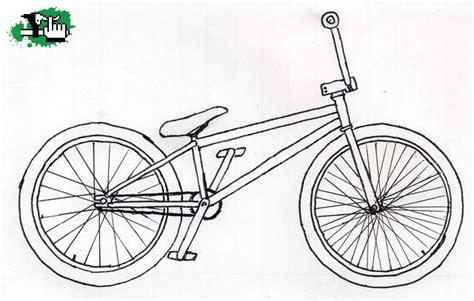 imagenes de bicicletas faciles para dibujar dibujos de bicicletas bmx imagui