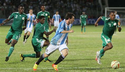 nigeria vs argentina world cup update nigeria loses 3 2 to argentina but